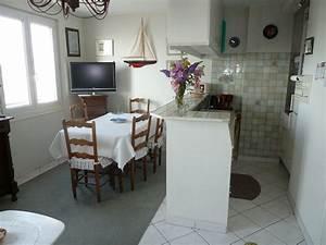 Appartement 1er etage for Salle À manger contemporaineavec lit À eau