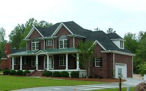 Front Exterior The Peppermill House Plan #1034