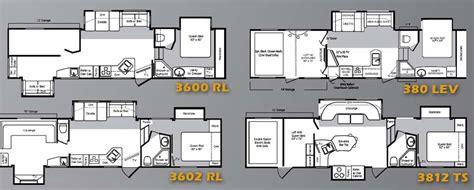 raptor 5th wheel hauler floor plans keystone raptor fifth wheel hauler floorplans large