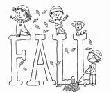 Coloring Fall Pages Printable Autumn Printables Fun Worksheets Sheets Template Fallout Number Word sketch template