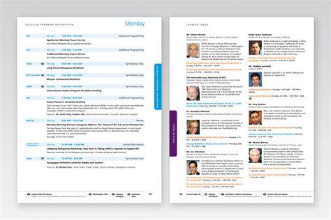 Event Design, on-site conference program by Deborah ...