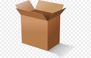 Cardboard Box Clip Art - Open Box Png Png Download