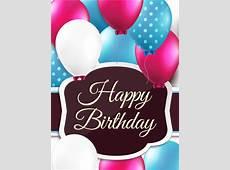 Polkadots Birthday Balloon Card Birthday & Greeting