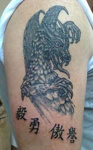 Tattoo Unendlichkeitszeichen Mit Buchstaben : bild tattoo drache buchstaben chinesische buchstaben von arkadius frajny bei kunstnet ~ Frokenaadalensverden.com Haus und Dekorationen