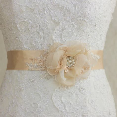 bridal belts wedding dress belts and sashes flower belt