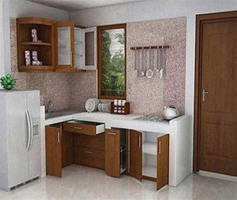 contoh desain dapur minimalis  cantik  modern
