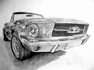 Ford Mustang Logo Drawing wallpaper | 1024x768 | #34223