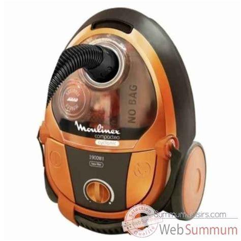 aspirateur cuisine moulinex aspirateur sans sac compacteo orange 759 de
