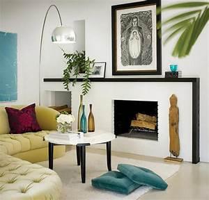 Deco Sejour Moderne : le blanc en tant que fond parfait pour une d co design ~ Teatrodelosmanantiales.com Idées de Décoration