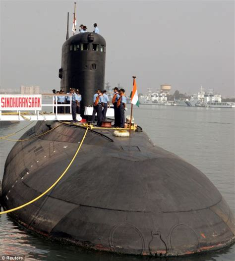 Indian Sailors Are Trapped On Board A Submarine After