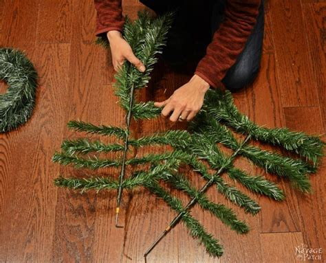 how to dismantle a christmas tree a husband and take apart a tree for this brilliant porch idea porch tree