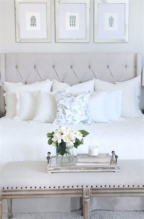 master bedroom ideas 10 calm and charming all white bedrooms master bedroom ideas White