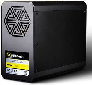 terahash miner bitcrane t 110s 1 th s ultra silent bitcoin mining system