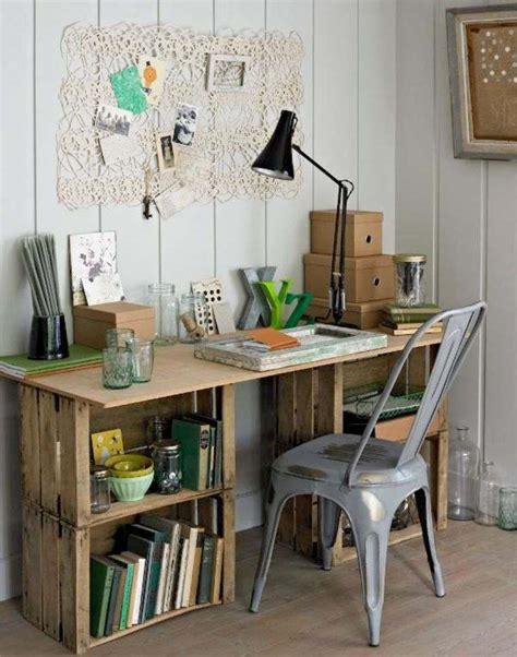 bureau palette bois meuble en palette 34 idées fraîches de diy déco naturelle