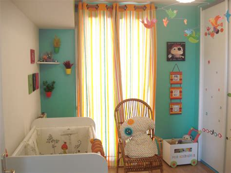 chambre bébé orange chambre bebe garcon orange