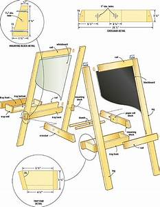 Build a perfect easel for children – Canadian Home Workshop