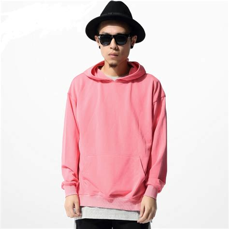 Men Pink Hoodie | Fashion Ql