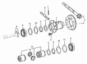 2001 Vw Beetle Differential Diagram