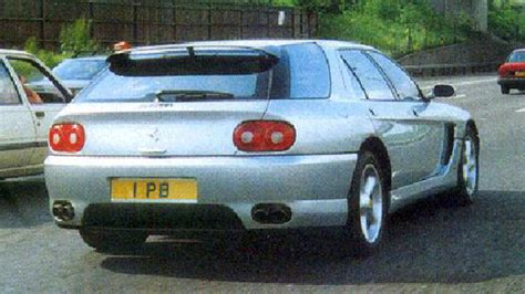 With 500 units this v12 engine car is a must have car for every car enthusiast. COACHBUILD.COM - Pininfarina Ferrari 456GT Venice Estate
