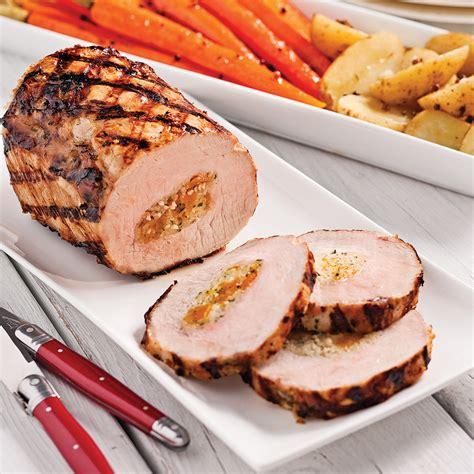sauge cuisine recettes longe de porc farcie à la sauge et couscous recettes