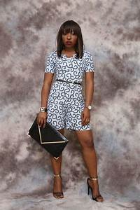 combishort imprime africain longueur genou vetements With robe ethnique africaine