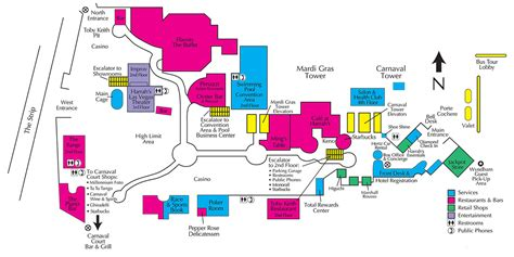 showtimevegascom las vegas facility site maps
