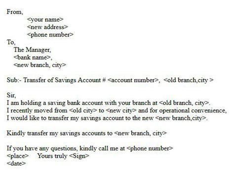 request letter address change format letter format for