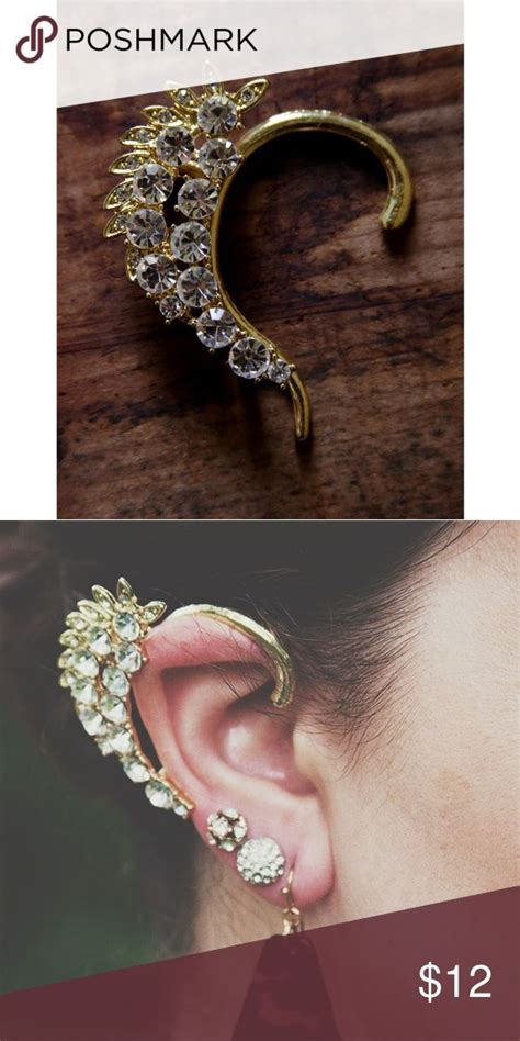 Embellished Ear Cuff Got this for free from the company to