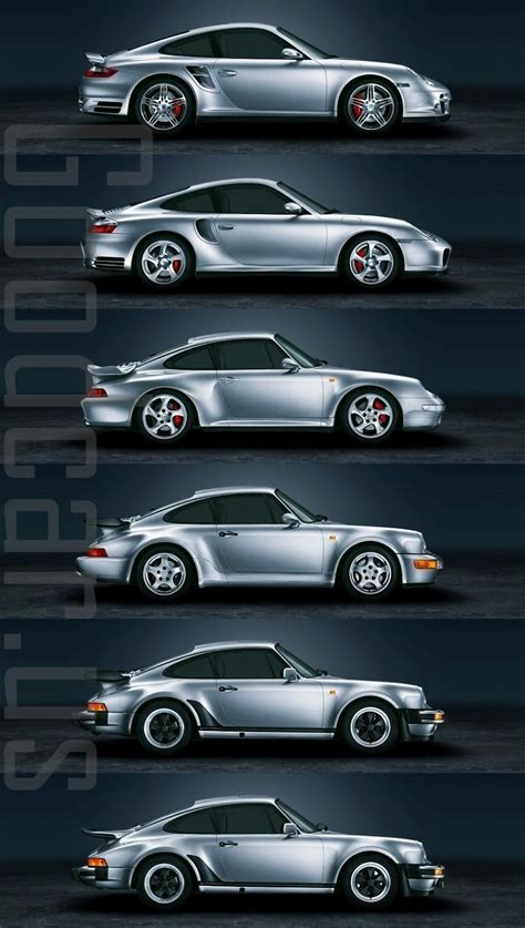 autos stages   evolution   porsche  turbo