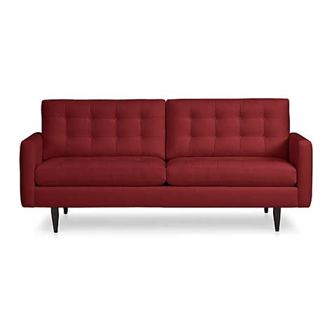 crate and barrel apartment sofa petrie apartment sofa snow crate and barrel