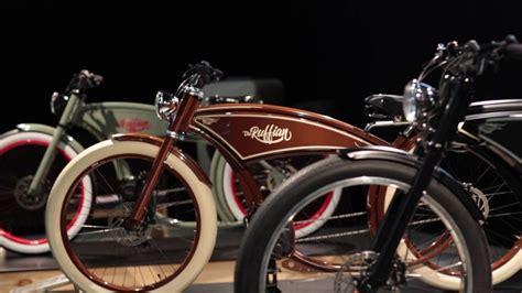 e bike chopper the ruffian ebike custom bicycle chopper cruiser