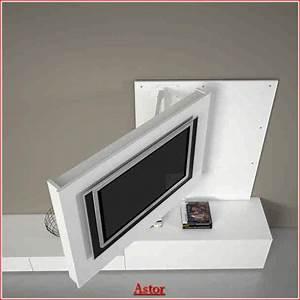 Meuble De Tele Design : meuble tv pivotant meuble tv 90 cm maisonjoffrois ~ Teatrodelosmanantiales.com Idées de Décoration