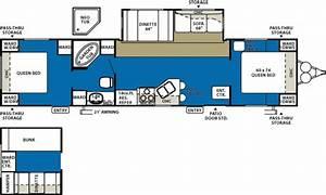 3 Bedroom Travel Trailer Floor Plan
