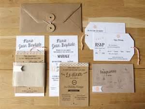 diy faire part mariage les 25 meilleures idées concernant papier kraft mariage sur invitations de mariage