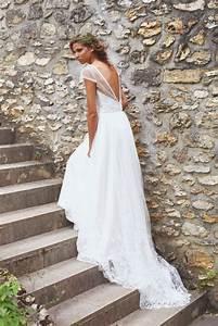 Robe De Mariée Dos Nu Plongeant : robe de mariee dos nu plongeant ~ Melissatoandfro.com Idées de Décoration