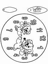 Koala Clock Orologio Klok Kleurplaat Reloj Boardwalk Funnycoloring Coloring Colorare Dibujos Stampare Coala Cut Zegar Uhr Basteln Nukleuren Jetztmalen Kleurplaten sketch template