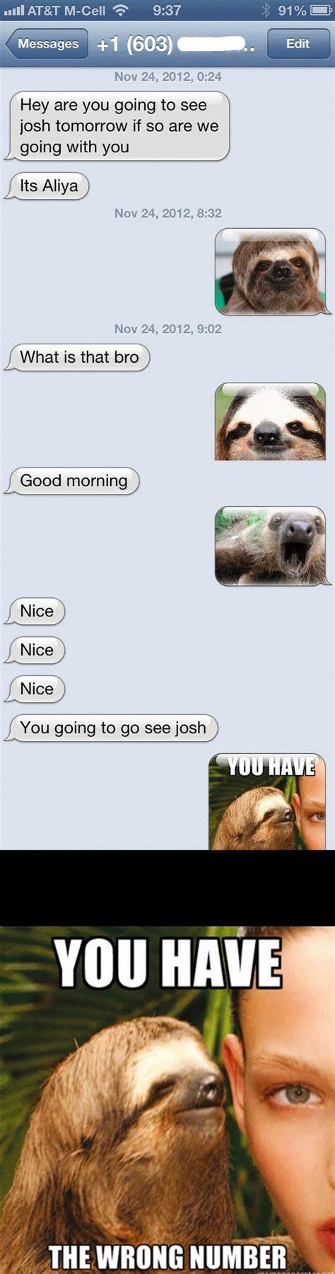 ≡ 17 Best Responses To Wrong Number Texts Brain Berries
