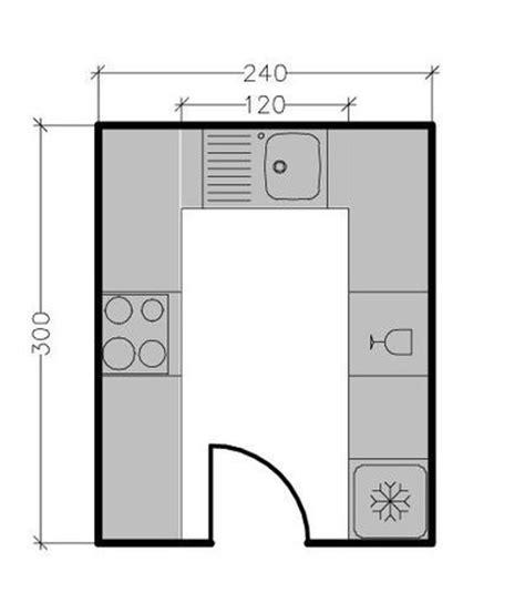 plan de cuisine en u 13 plans pour une cuisine fermée de 3 à 9 m2 côté maison