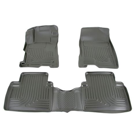 floor mats honda accord floor mats for 2012 honda accord husky liners hl98401