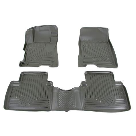 rear floor mats husky liners weatherbeater custom auto floor liners