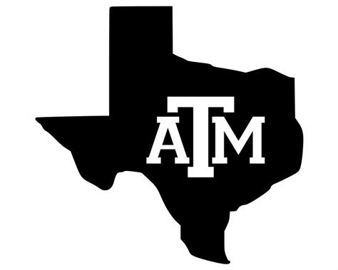 texas decals lone star state silhouette  texas