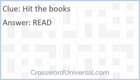 hit  books crossword clue crossworduniversalcom