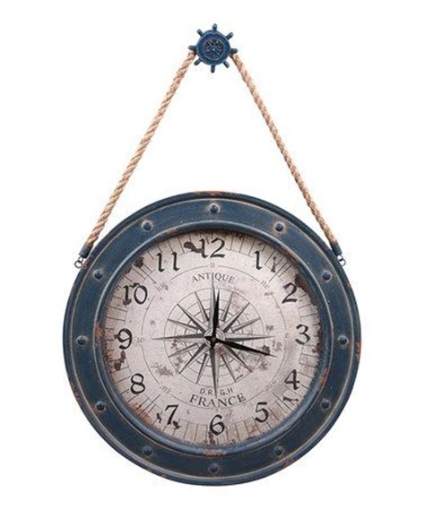 great find  zulily blue helm compass wall