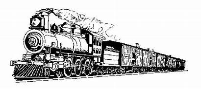 Train Steam Clip Trains Clipart Passenger Google