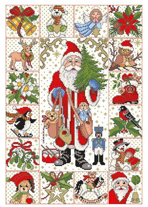Kreuzstiche vorlagen kostenlos ausdrucken : Adventskalender   Adventskalender gestickt, Kreuzstich-stickvorlagen