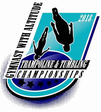 Tumbling Altitude Trampoline Gymnast Logos Urartstudio Hockey