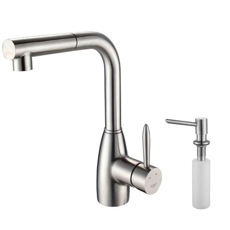 kraus kitchen faucet faucet kpf 2140 sd20 in stainless steel by kraus