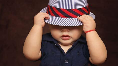 Wallpaper Cute Baby Boy, Hat, Style, Hd, 4k, Cute, #927