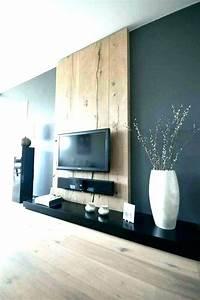 Meuble Tv Accroché Au Mur : d cisif tele accrocher au mur rudenerd ~ Melissatoandfro.com Idées de Décoration