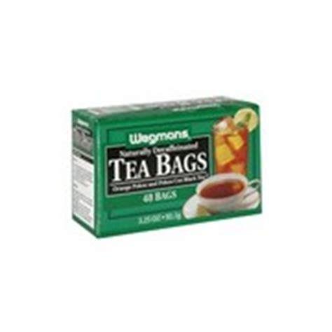Study shows drinking decaf doesn't eliminate caffeine. Wegmans Black Tea, Decaffeinated: Calories, Nutrition ...